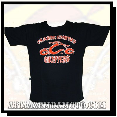 CAMISETA ORANGE COUNTRY CHOPPERS