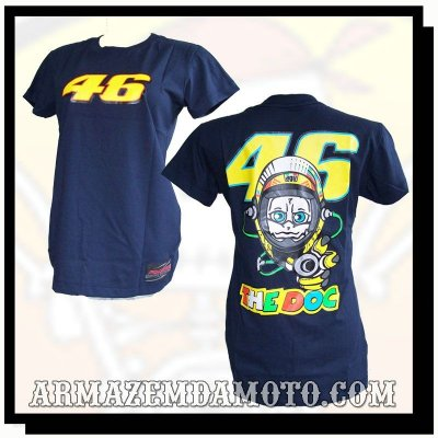BABY LOOK MOTO GP VALENTINO ROSSI 46 THE DOC