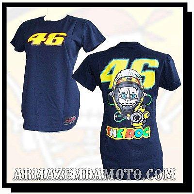 BABY LOOK MOTO GP VALENTINO ROSSI 46 THE DOC