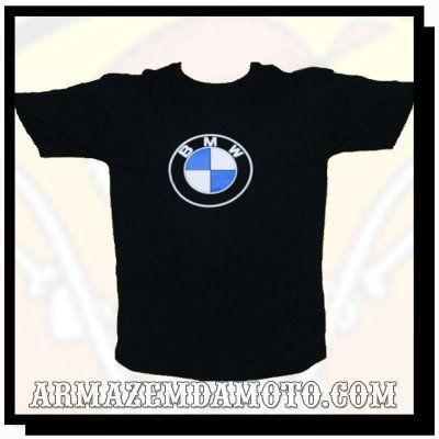 CAMISETA LOGO BMW