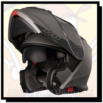 CAPACETE ESCAMOTEÁVEL X11 TURNER SOLIDES CHUMBO