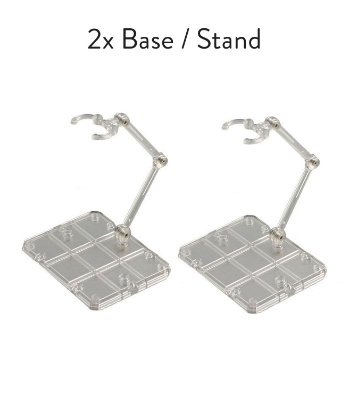 2x Base Stand Act Action Figure Suporte Sh Figuarts Figma