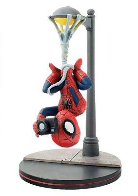 Spider-Man Q-Fig Quantum Mechanix 14 cm Spiderverse