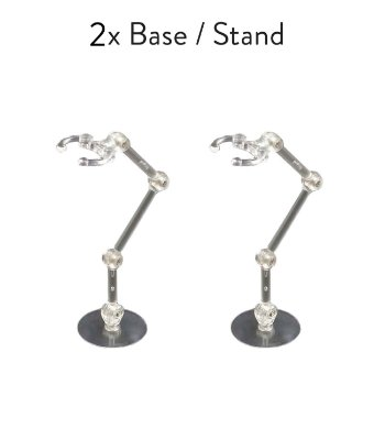 2x Base Stand Multidirecional Action Suporte Figuarts Figma Legends