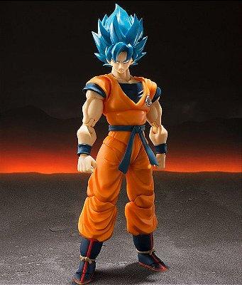 Goku Super Saiyan God Blue S.H.figuarts 2.0 Bandai