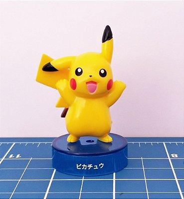 Pikachu Pokémon Kaiyodo Bottle Cap Figure (4 cm, sem a base)