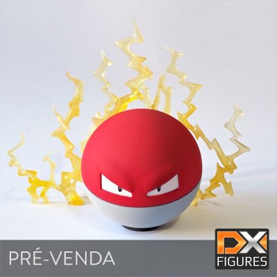 [ Pré-venda (50%) do Valor Total ] Voltorb DX FIG-002 + Effect - Pokémon Figure