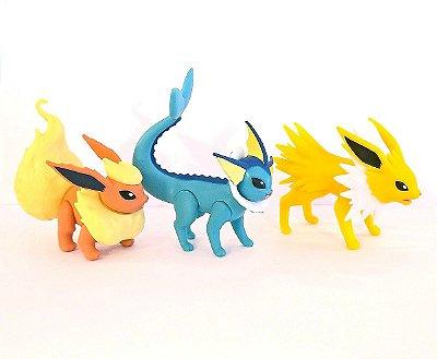 Eeveelutions Set Pokémon WCT - Flareon + Vaporeon + Jolteon