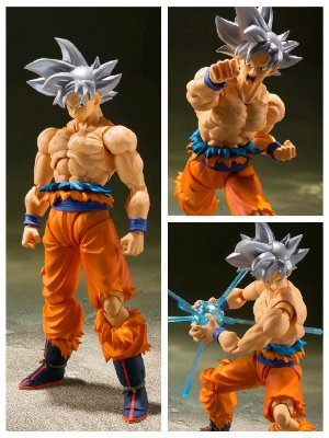 [ Pré-venda ] Goku Ultra Instinct Perfect - S.H.Figuarts Bandai - Dragon Ball Super