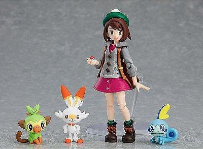 [ Pré-venda ] Gloria + Sobble + Scorbunny + Grookey - Pokémon figma Limited Edition