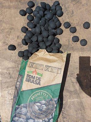 Carvão Vegetal Briquete 4 Kg