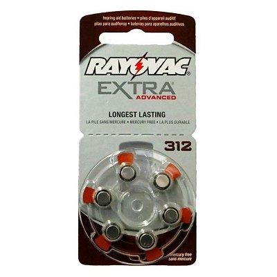 Pilha Auditiva 312 Extra Advanced - Rayovac