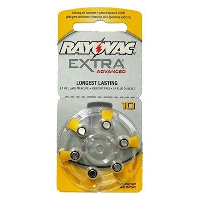 Pilha Auditiva 10 Extra Advanced - Rayovac