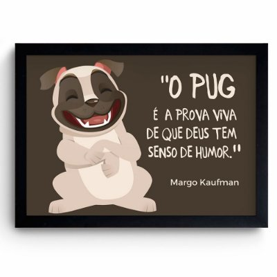 Pug - Deus tem senso de humor