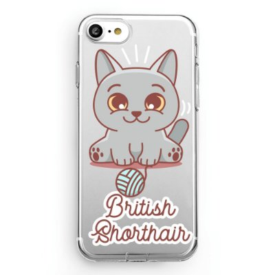 Capa transparente British Shorthair