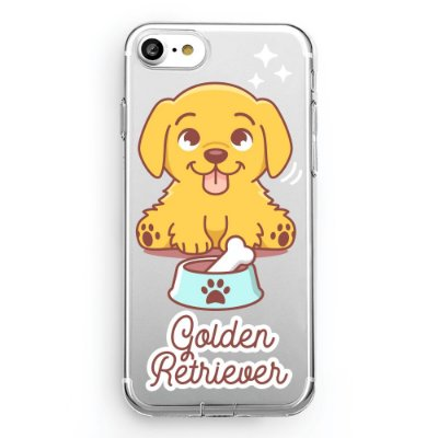 Capa transparente Golden Retriever