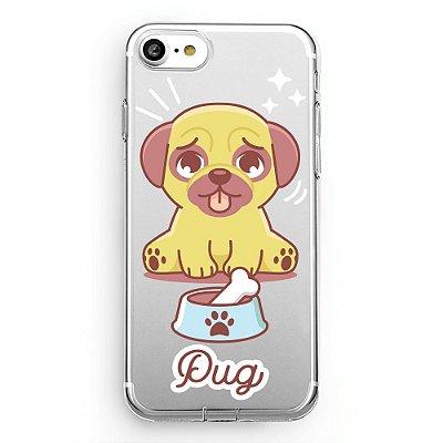 Capa transparente Pug