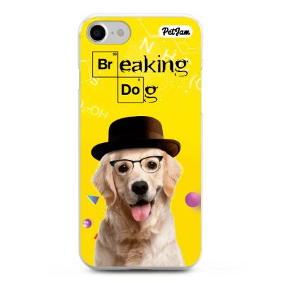 Capinha Breaking Dog/Cat - modelo Apple