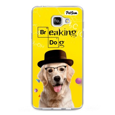 Capinha Breaking Dog/Cat - modelo Samsung