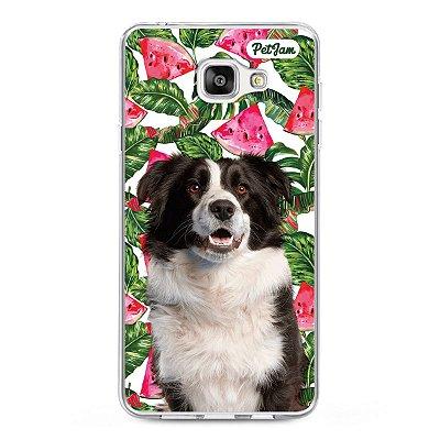 Capinha Melancia Floral - modelo Samsung
