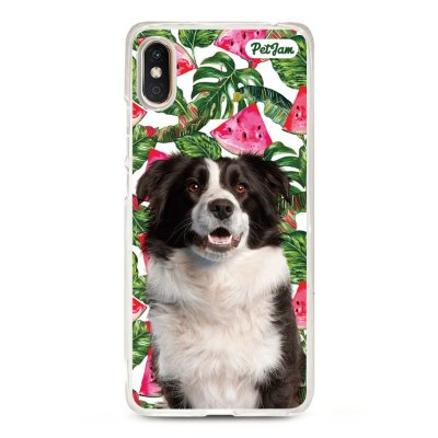Capinha Melancia Floral - modelo Xiaomi