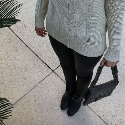 Blusa Tricot Trança Comphy Off