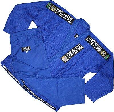 Kimono Kamikaze Tradicional Azul