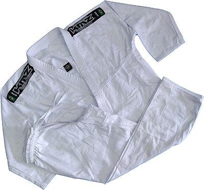 Kimono Judo Adulto Reforçado KMZ Branco