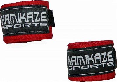 Bandagem 3 metros Vermelha Kamikaze