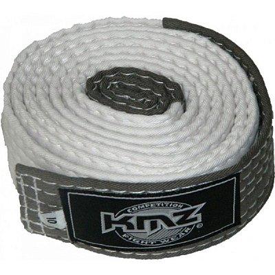 Faixa KMZ Branca com Ponteira Cinza