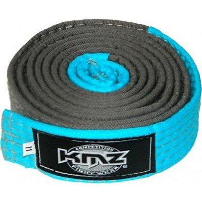 Faixa KMZ Cinza com Ponteira Azul