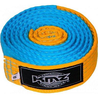 Faixa KMZ Azul com Ponteira Amarela