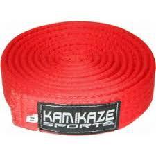 Faixa Kamikaze Vermelha