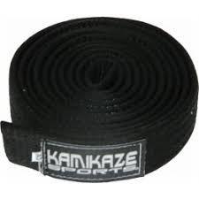 Faixa Kamikaze Preta