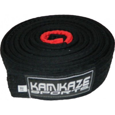 Faixa Kamikaze Preta com Ponteira