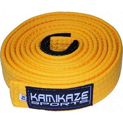 Faixa Kamikaze Amarela com Ponteira