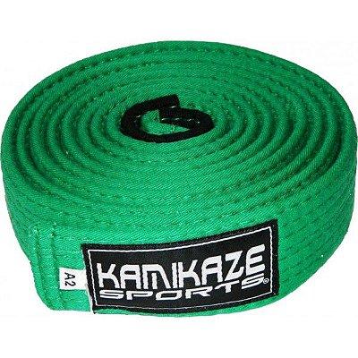Faixa Kamikaze Sports verde c/ponteira