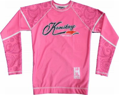 Rash Guard Evolution Rosa