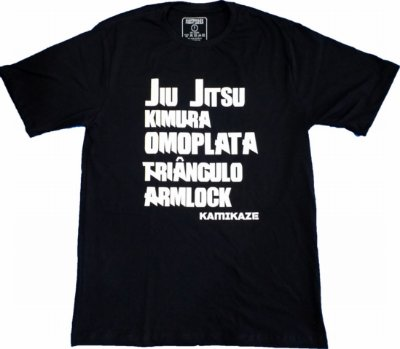 Camiseta Jiu Jitsu Golpes
