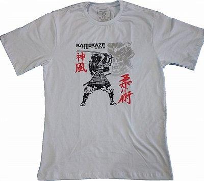 Camiseta Samurai Branca