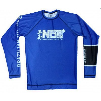 Rash Guard Azul NOS submission Series