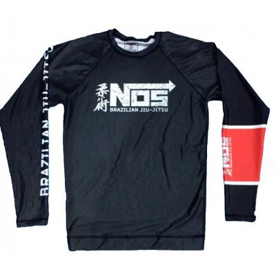 Rash Guard Preta NOS submission Series