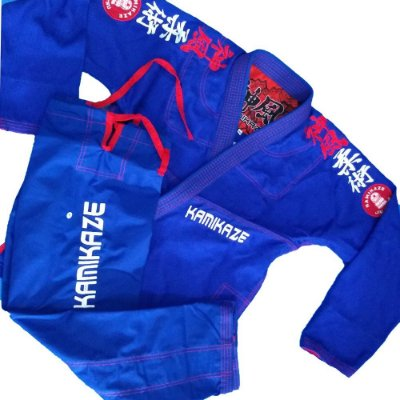 kimono k2 18 Azul