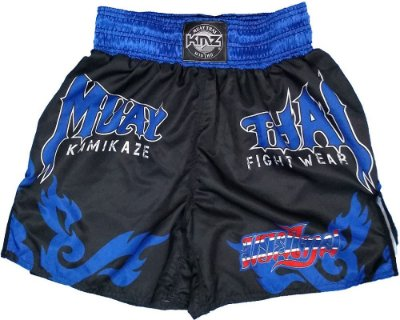 Short de Muay Thai Azul