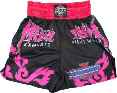 Short de muay thai Rosa