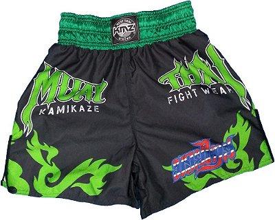 Short de Muay Thai Verde
