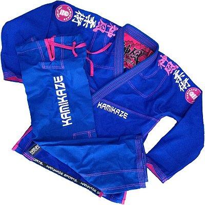 kimono k2 18 Azul Feminino