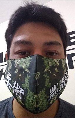 Máscara Camuflada Jiu Jitsu