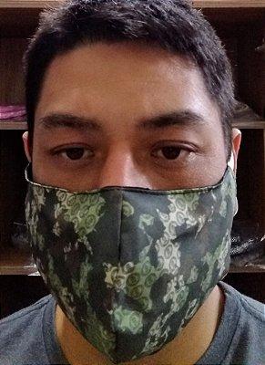 Máscara Camuflada Floresta