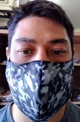 Máscara Camuflada Urbana